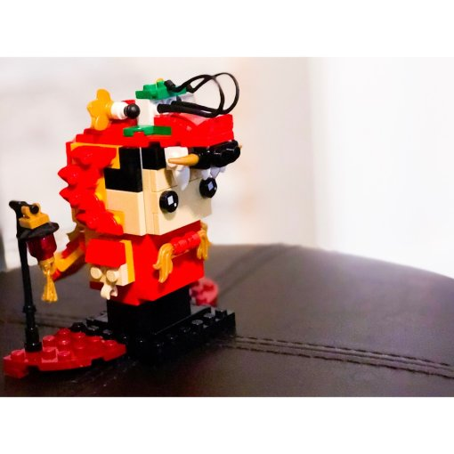 Lego Dragon Dance Guy前来报道啦!