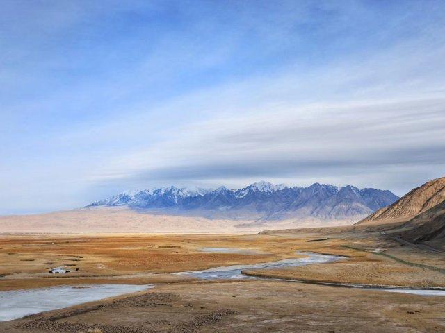 冬天的新疆帕米尔高原,比班夫还美!⛰️