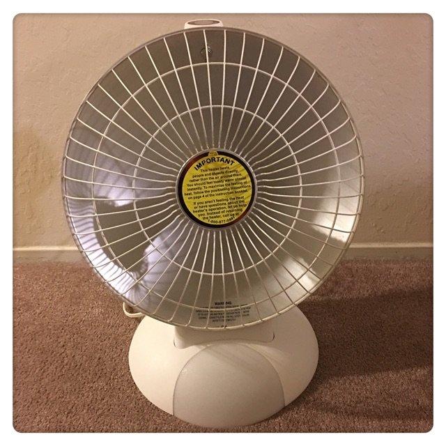 住的公寓只有不可调温的中央空调,挺...