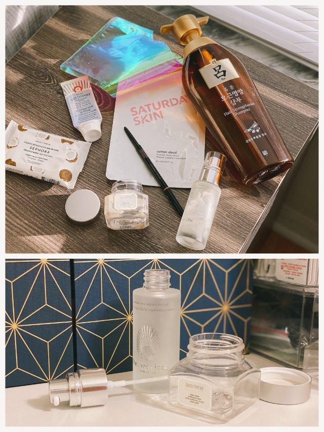 1月空瓶记|第2弹|护肤彩妆头发产...