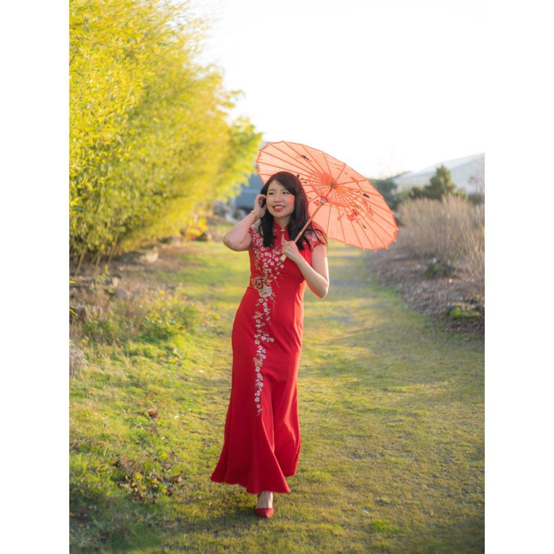 婚纱礼服再利用|在异国他乡拍出中国风!