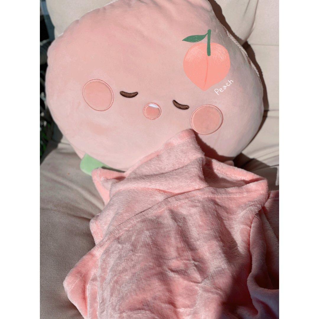 【家居好物】多功能可爱小抱枕+小毯子🍑