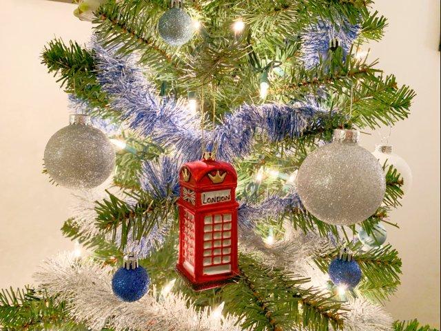 圣诞树🎄上很有意义的一个挂件