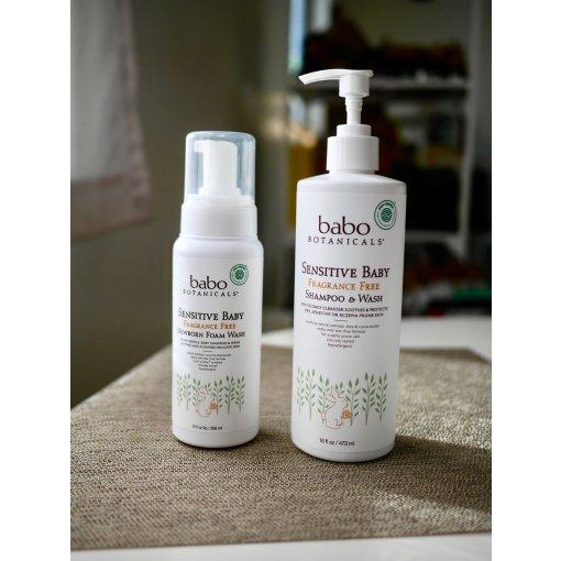 非常放心的植物洗发护肤Babo Botanicals