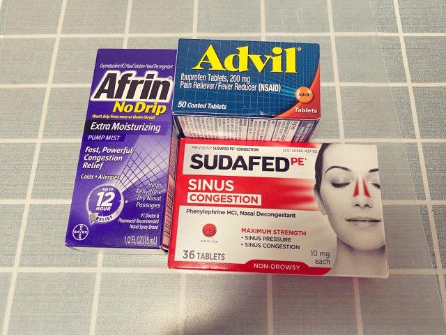 晒晒我的感冒咳嗽备用药