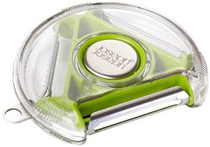 Amazon.com: Joseph Joseph PEBG0100CB Rotary Vegetable Peeler with 3 Blades, Green: Kitchen & Dining