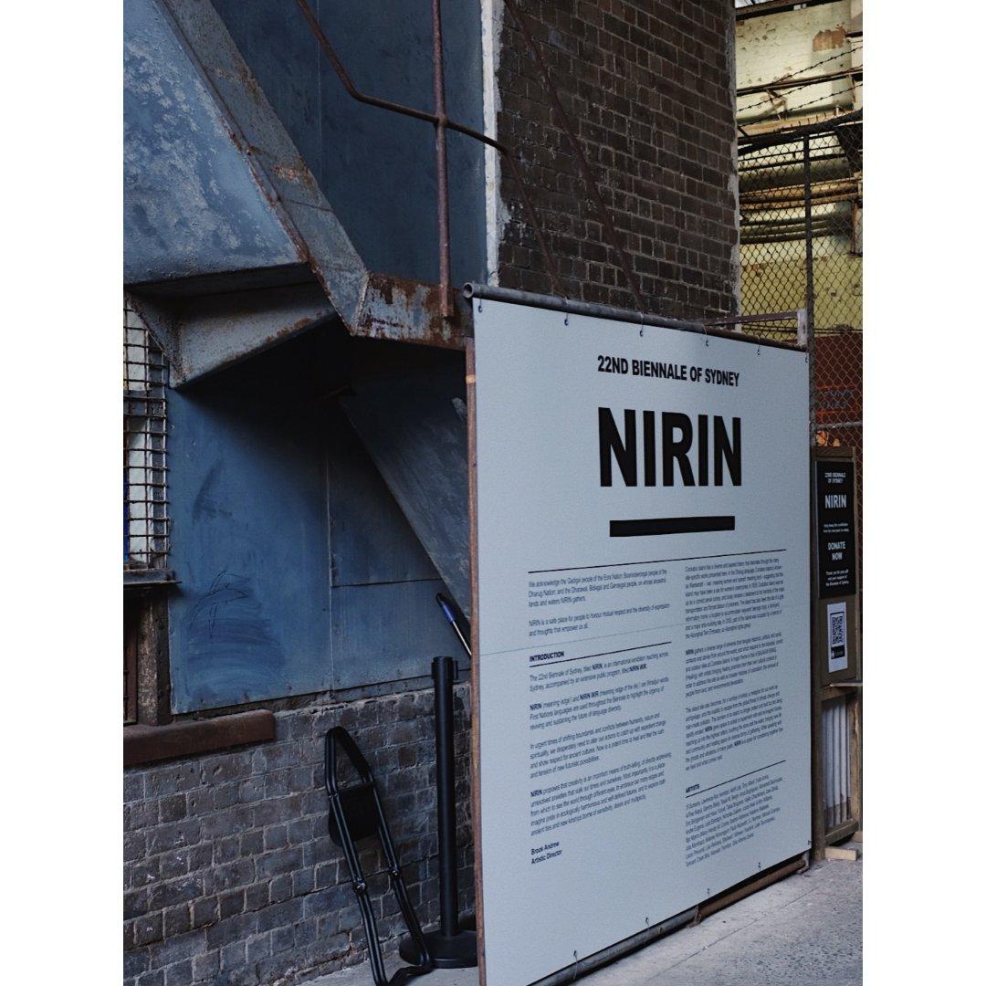 👀悉尼看展|NIRIN