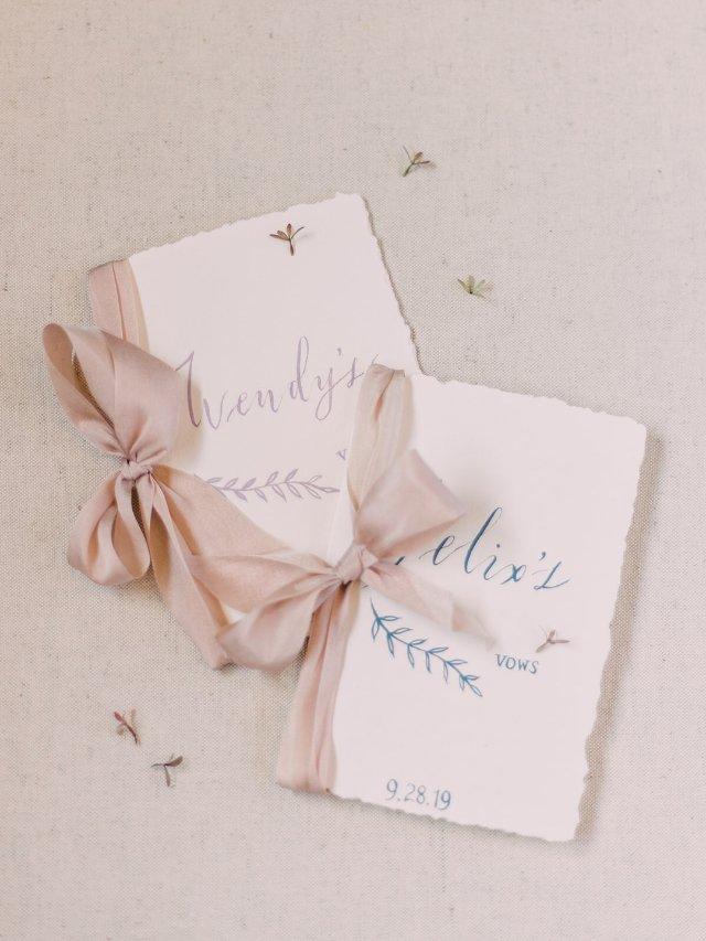 点点备婚日记之誓言卡