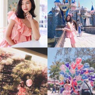 Zara,Disney 迪士尼,迪士尼乐园,粉色少女心,粉色控