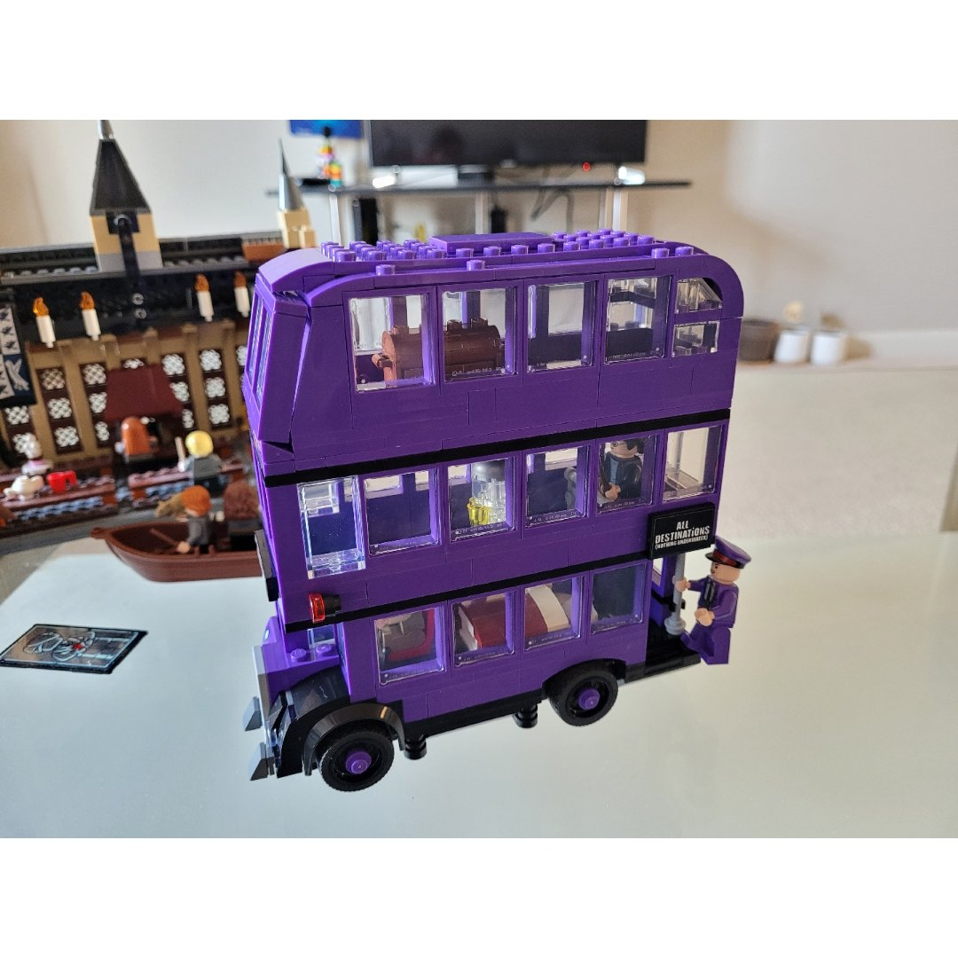 Lego哈利波特骑士巴士...
