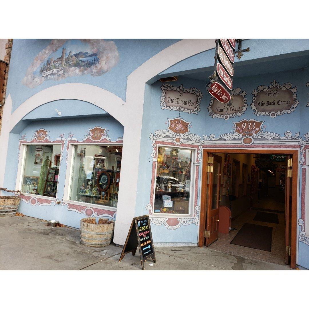 西雅图德国小镇:古董音乐盒店