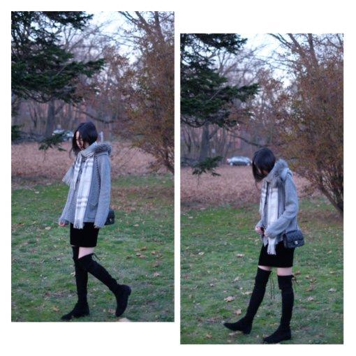 冬季必入de过膝靴