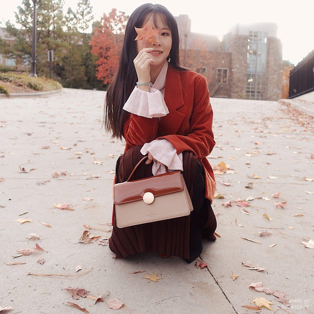 OOTD穿搭   和我一起吹叶子🍂呀☺️