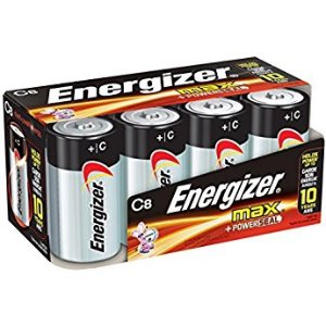 $5.02Energizer D Cell Batteries Max Alkaline 8 Count