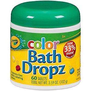 $6.45Crayola 绘儿乐彩色洗澡速溶片 60片装