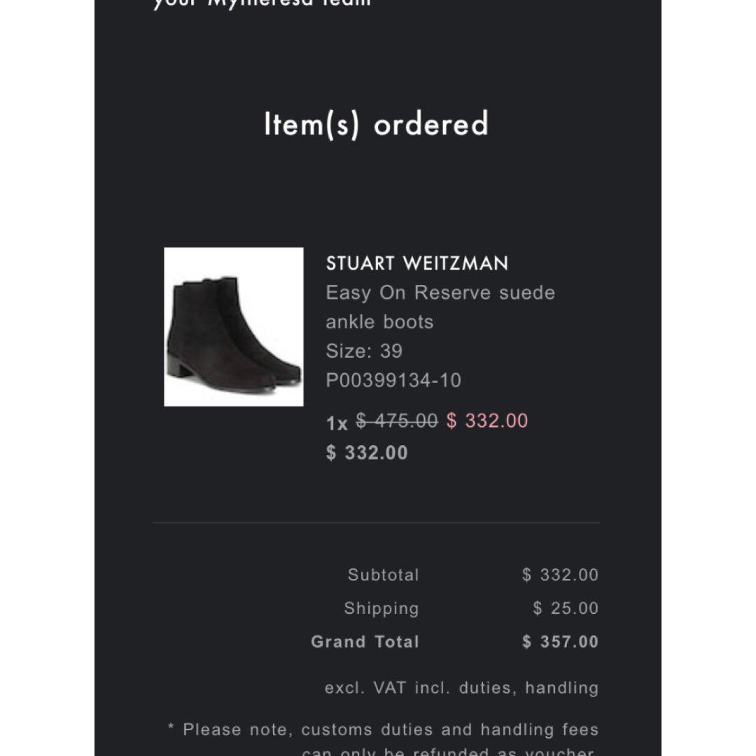 每年黑五都要买SW的长靴 今年下单买短靴