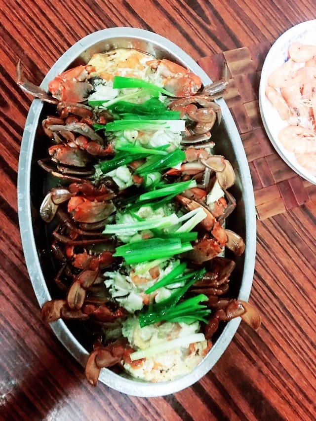 今晚煮的新菜式——柠檬🍋蟹