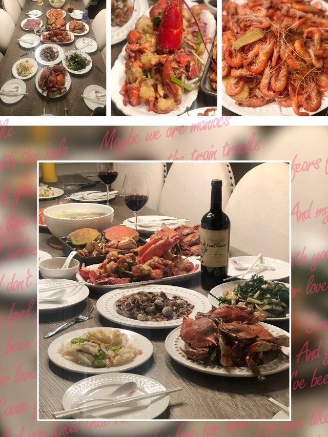感恩节↣感恩丰盛的晚餐.