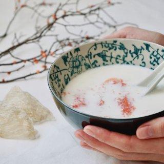 一碗木瓜牛奶燕窝,开启美丽修行新一天