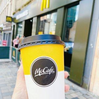 麦当劳送免费咖啡☕️...