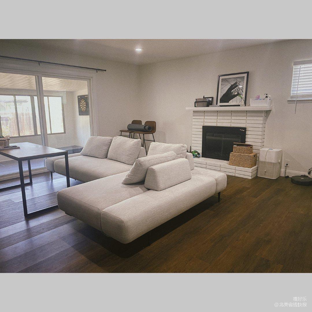 【家居好物】可以两边坐的ins风沙发