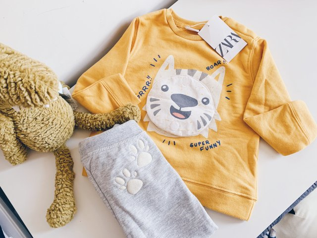 Zara 童装 | 可爱与舒适的儿童秋装