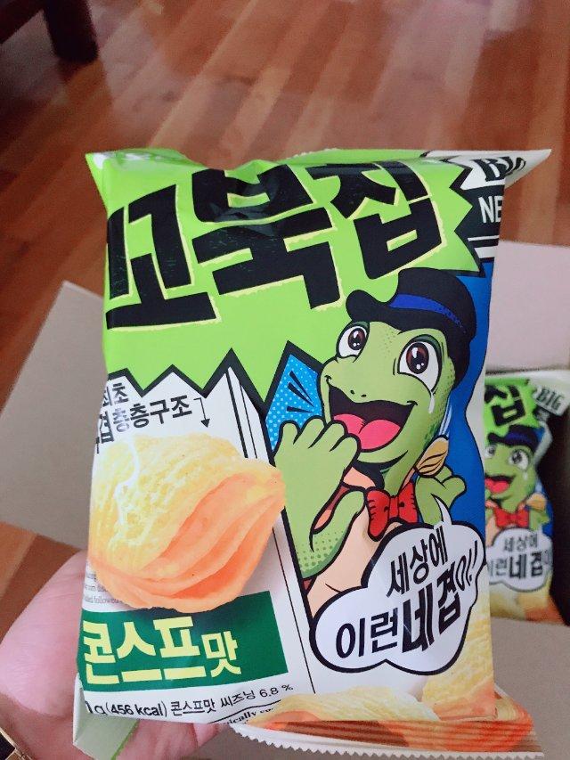 sweetcorn膨化零食
