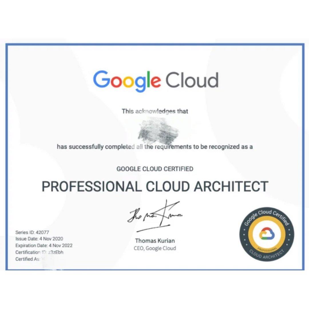 程序员证书Google Cloud...