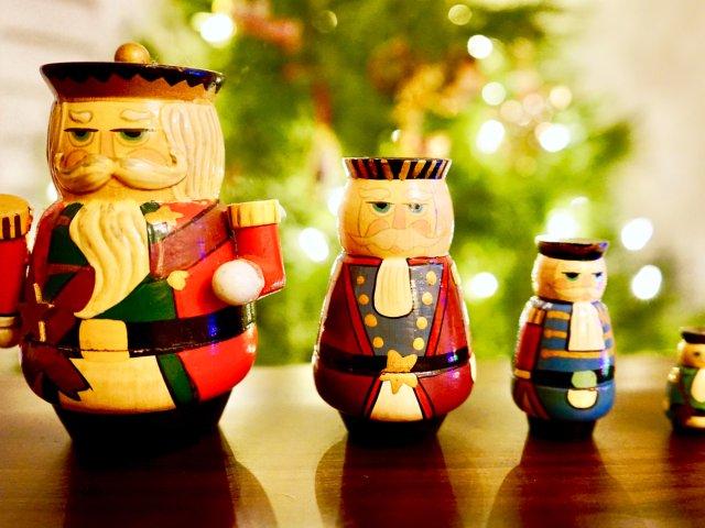 搞卫生搞到宝——俄罗斯套娃圣诞装饰