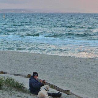 墨尔本的海🌊