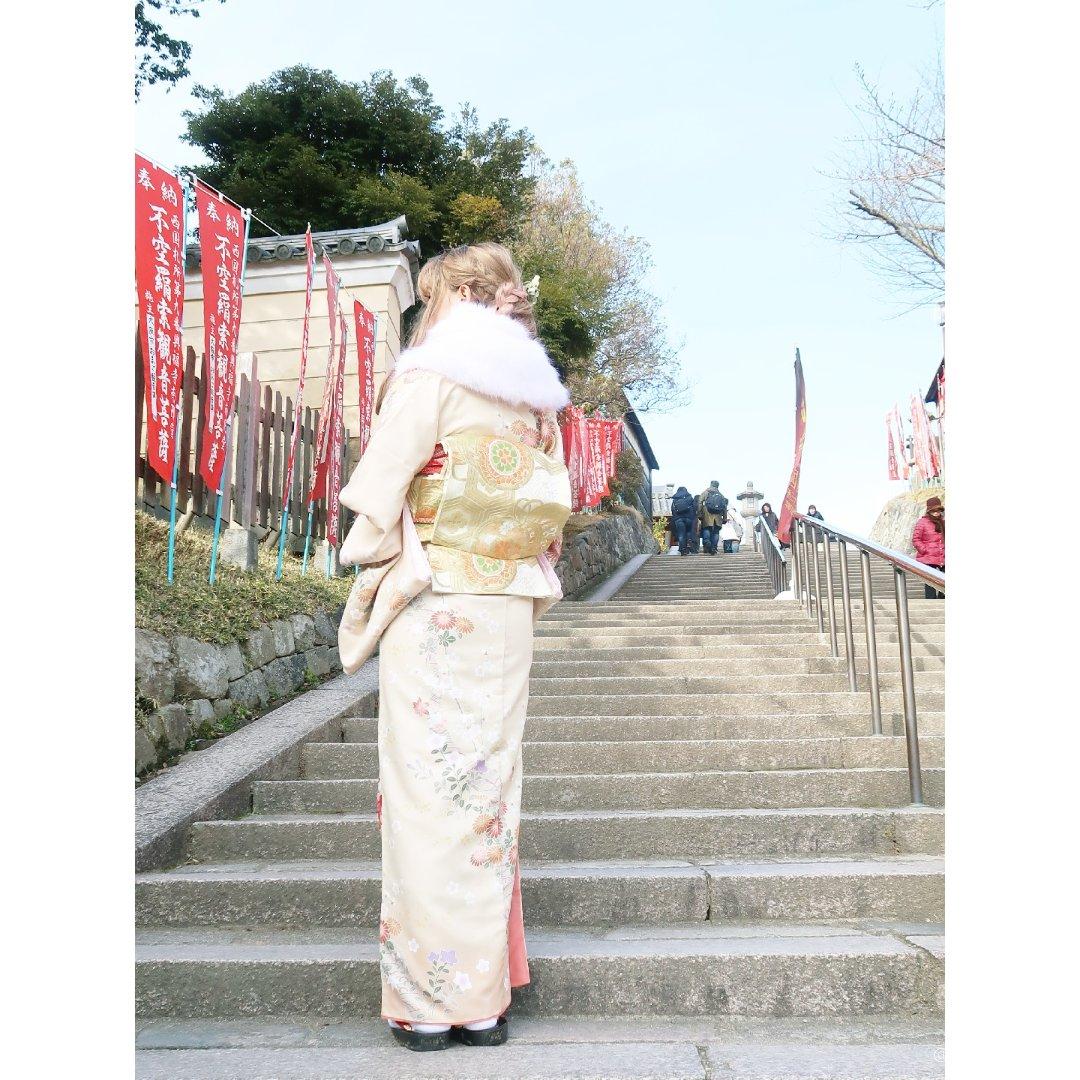 👘奈良和服体验~与小鹿完美合照🦌