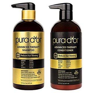 $34.99Pura d'or Advanced 深层滋润修复洗发水+护发素 金标