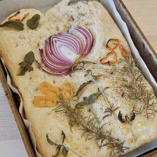 意大利佛卡夏面包,每一口都是治愈的香气~...