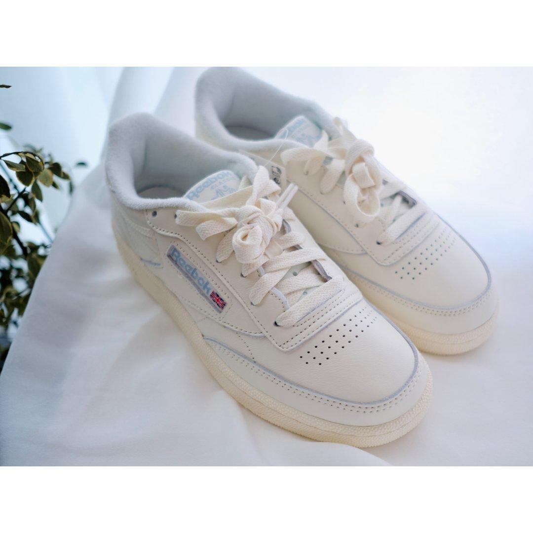 超好穿的Reebok小白鞋