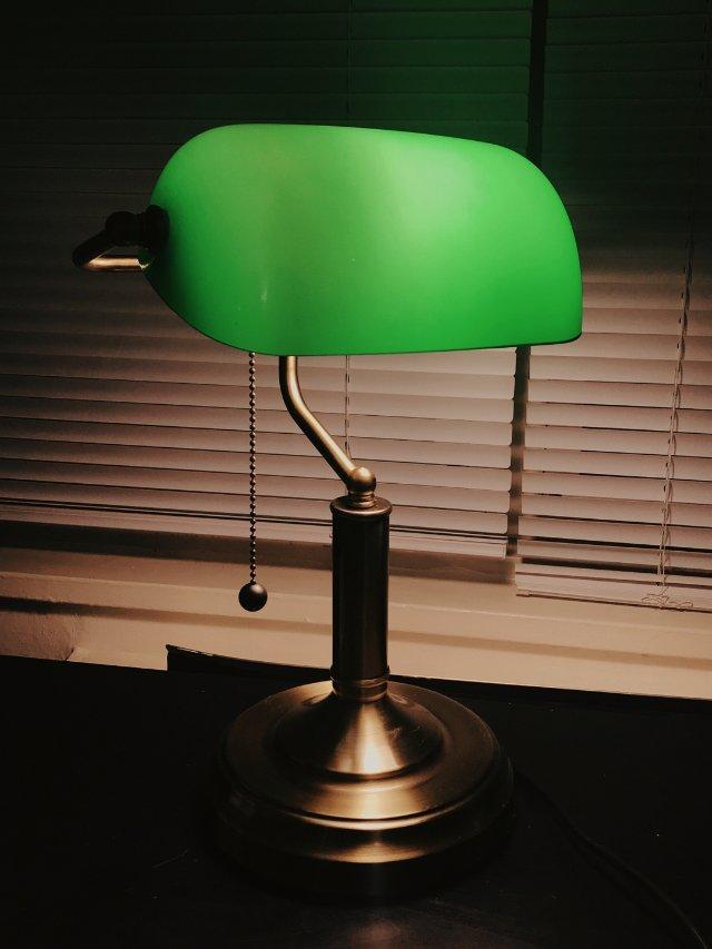 复古家居 | Banker's Lamp