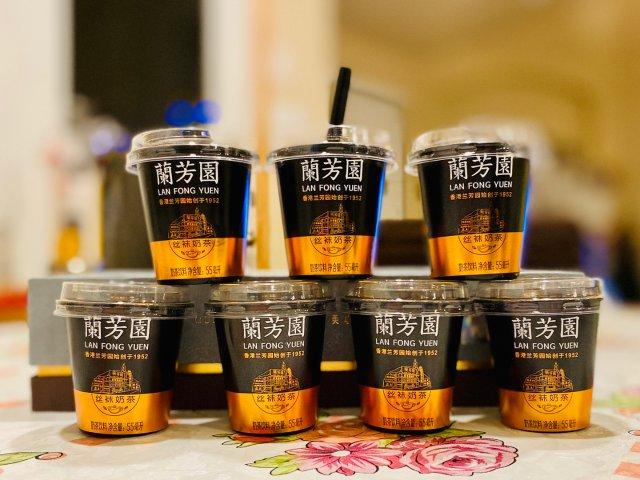 超迷你超可爱的兰芳园丝袜奶茶