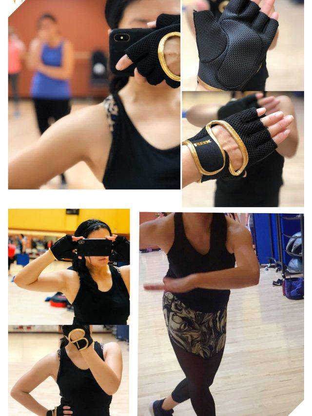 ❤️女生举铁必备/防滑保护运动手套❤️