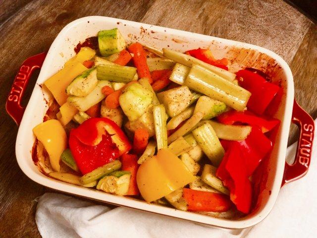 「食谱」减脂烤杂蔬,体验蔬菜最原本的味道