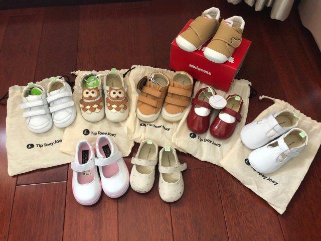 宝宝的学步鞋