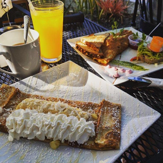 早餐来一份法式可丽饼吧~