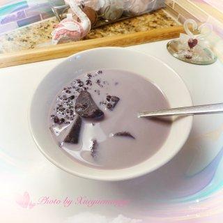 下半年愿望 DIY健康早餐 紫薯黑米粥...