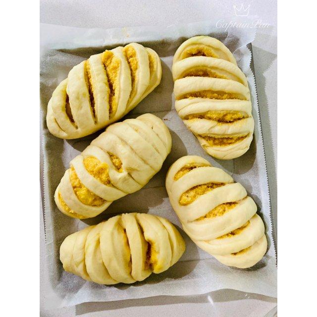 美食|早餐椰蓉小面包(菜谱)