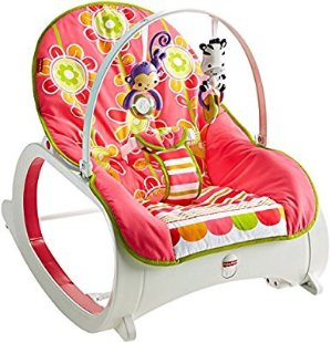 $28Fisher-Price Infant-to-Toddler Rocker, Floral Confetti