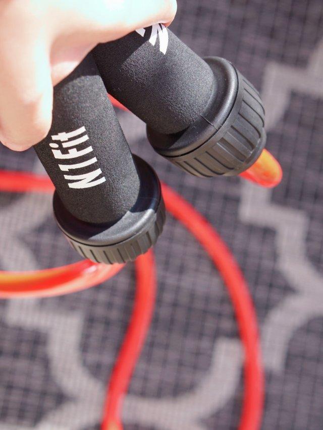 不能闲置!🐌锻炼必备的超粗跳绳