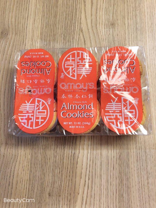 酥脆香甜的杏仁饼干