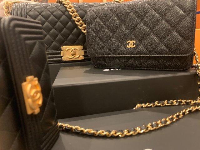 Chanel ❤️ 就是愛香奈兒經典黑金