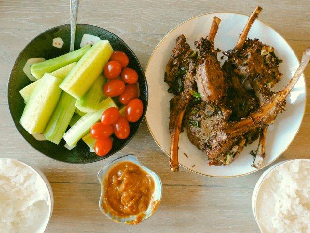 空气炸锅食谱|健康美味的气炸锅烤羊排🍖