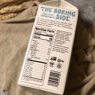Oat Milk,比牛奶更好喝...