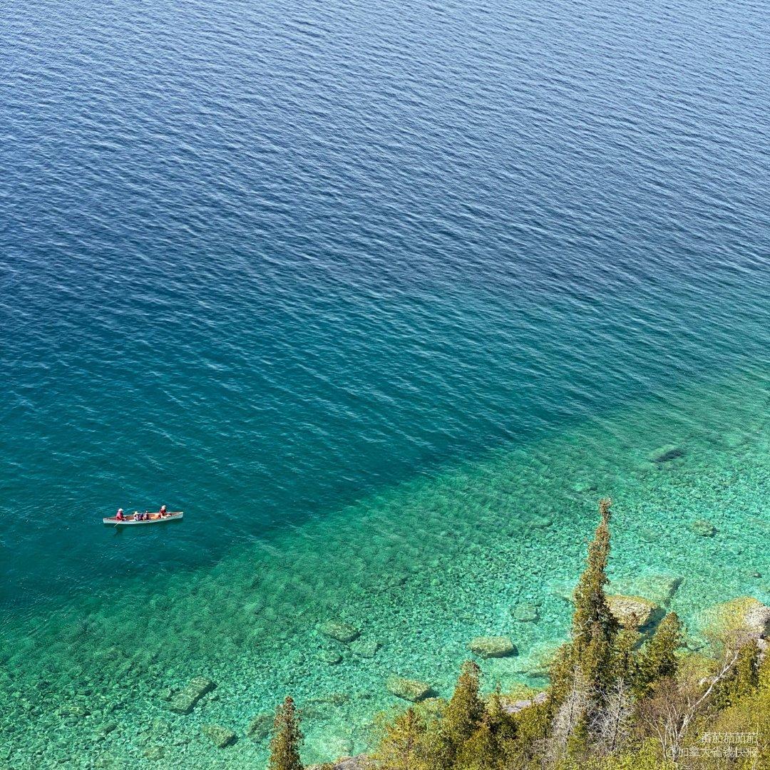 比加勒比海还美的大湖🌊