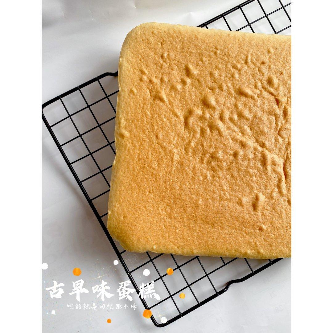 晒区种草食谱:古早味蛋糕